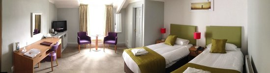 The Derwentwater Hotel: This is a newly refurbished Twin View Plus Bedroom