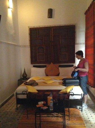 Riad Jamai: chambre curry