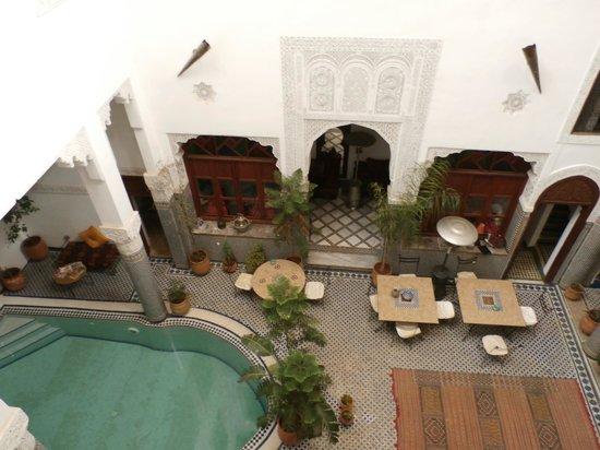 Riad Jamai: vue de la chambre curry