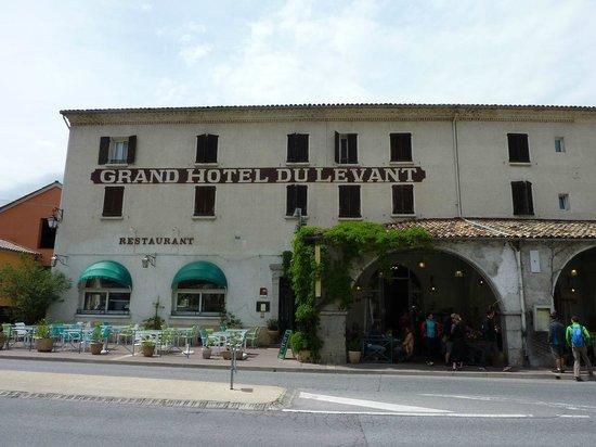 Hotel du Levant : Facade