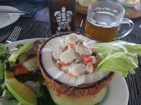 Paradise Taveuni: Fresh and delicious meals!