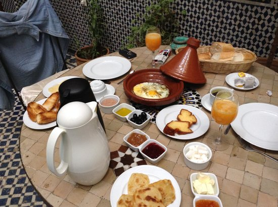 Riad Jamai : Super petit déjeuner!