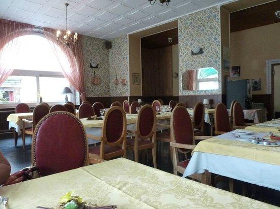 Hotel du Levant : Salle à manger