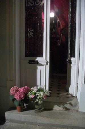 Manoir de Beauregard : front door