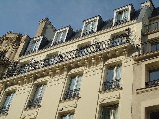 Alexandrine Opera: hotel alexandrine (facciata - piani alti)