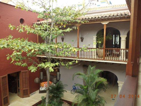 Ananda Hotel Boutique : Vista del Hotel