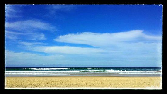 QT Gold Coast: Stretch of beach about a 1min walk across from QT