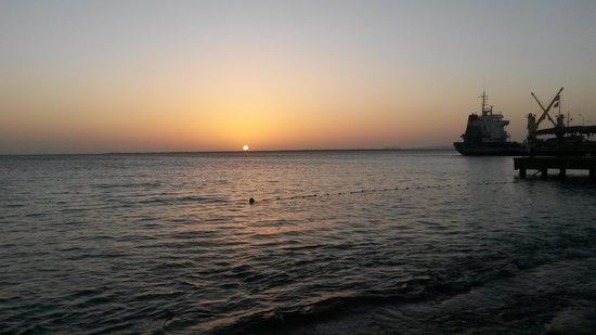 Djambo: sunset in Bonaire