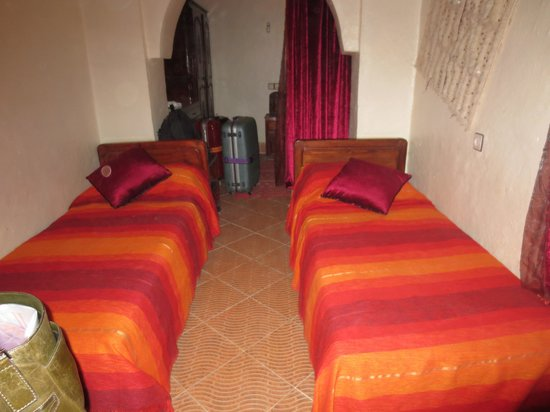 Guest House Merzouga : 寝室
