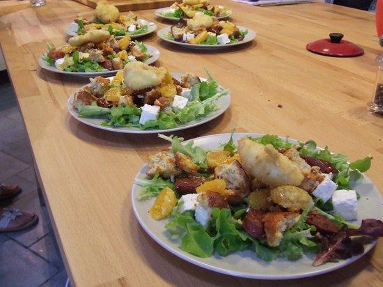 The Secret Garden : Some food we prepared.