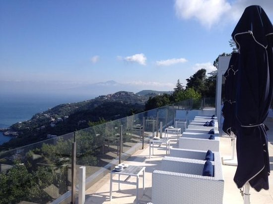 Relais Blu Belvedere: terrazza