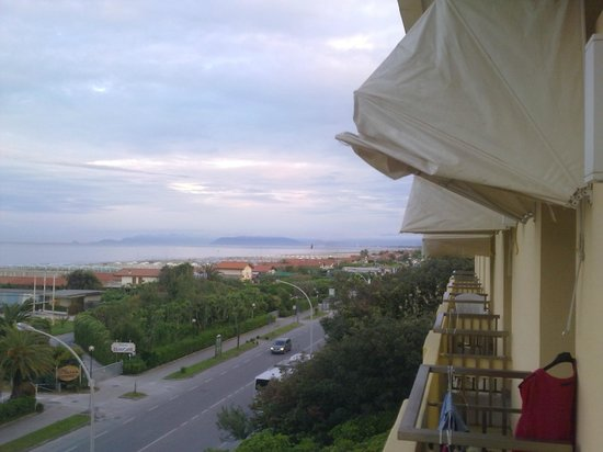 Hotel San Carlo: balkonblick