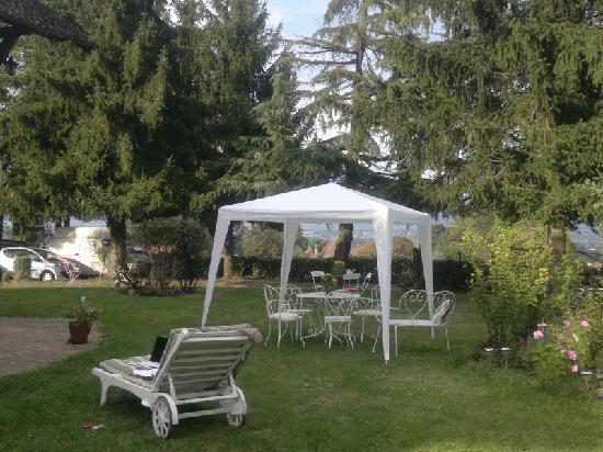 La Rolandiere : jardin