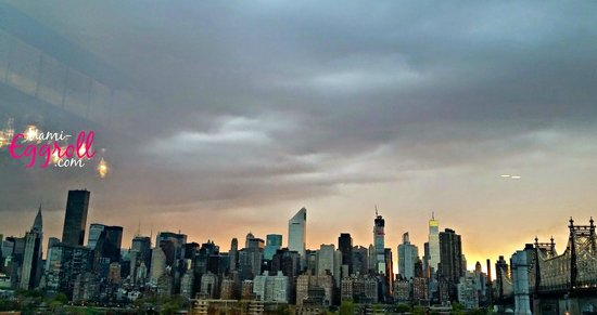 Z NYC Hotel: sunset view