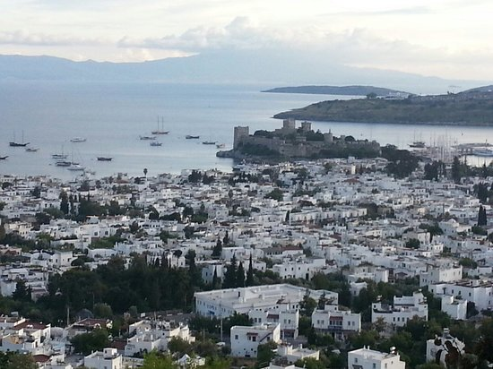 The Marmara, Bodrum : The view from the terrace, The Marmara Bodrum