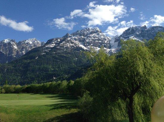 Dolomitengolf Hotel & Spa : Blick nach Osten