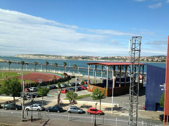 URH Palacio de Oriol Hotel: View seen from my room´s window