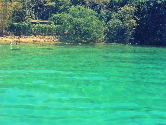 Lagoa Verde, Ilha Grande : Lagoa Verde, belíssima!!!