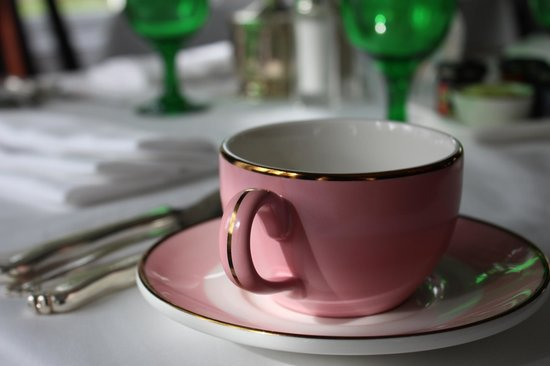The Greenbrier: Teacup at Breakfast