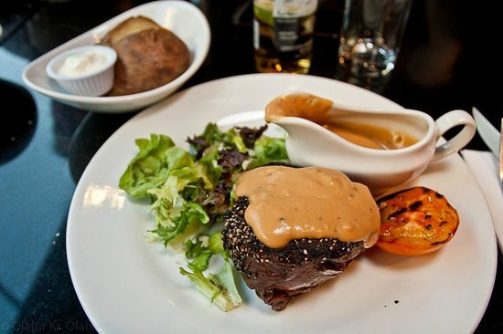 Angus Steakhouse: My perfect pepper steak