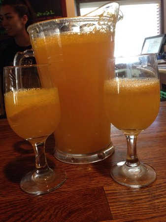 Fire Sign Cafe: Pitcher of mimosas!!!