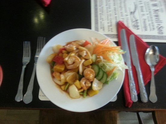 Jasmine Thai: Sweet and sour with seafood