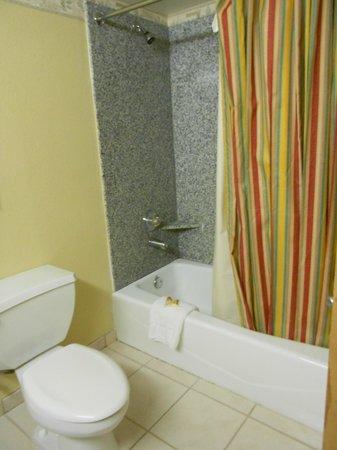 Circus Circus Hotel & Casino Las Vegas : Skyrise Tower bathroom.