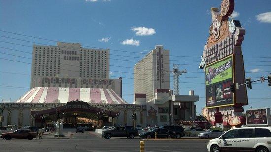 Circus Circus Hotel & Casino Las Vegas : Exterior of resort.
