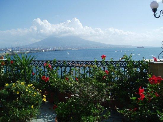Hotel Miramare : 屋上テラスからの素晴らしい眺望!