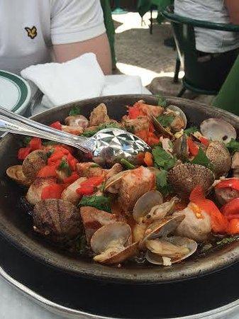 Restaurante Cervejaria Pinoquio: Clams and Pork!!! Superdooper