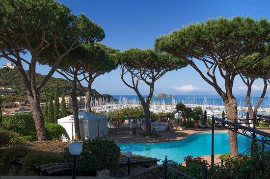 Baglioni Resort Cala del Porto: View from our suite