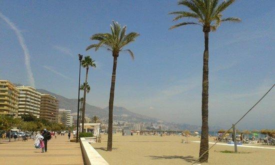 Apartamentos La Jabega: Beach