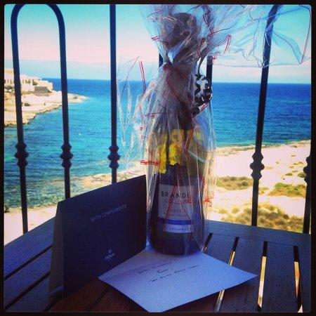 Hilton Malta: Birthday present