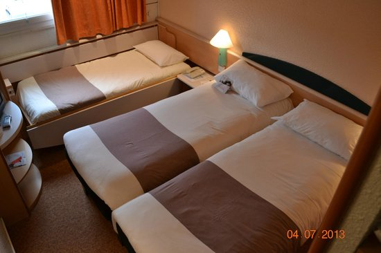 Ibis Limoges Nord : 3 LITS