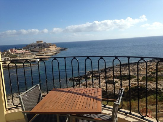 Hilton Malta: The view from the room