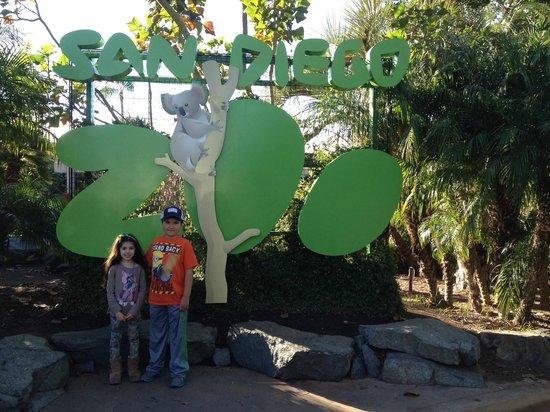 San Diego Zoo Safari Park : entrada del parque