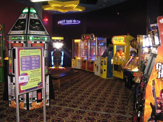 Kids Quest and Cyber Quest at Coushatta Casino: Cyber Quest Arcade