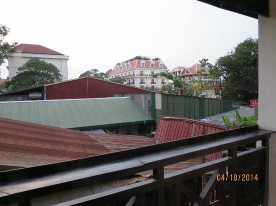 The Siem Reap Hostel: Room 105 View