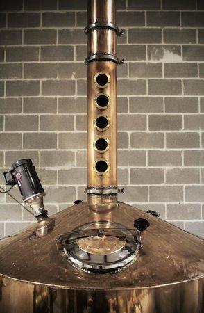 Blackwater Distilling: Blackwater's 500-gallon still