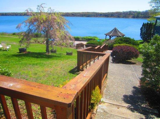 Cove Motel: view