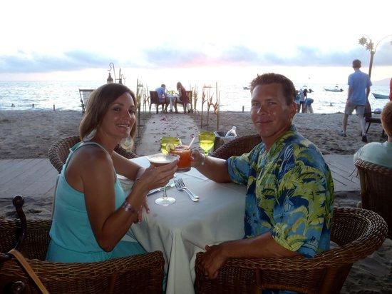 La Palapa Restaurant: very romantic