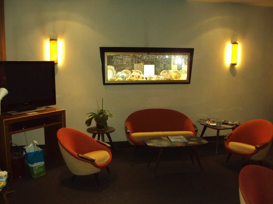 Hotel Bernina Geneve : recepção