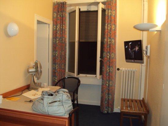 Hotel Bernina Geneve : quarto