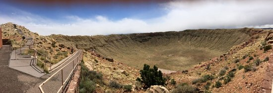 Meteor Crater: A very big hole!