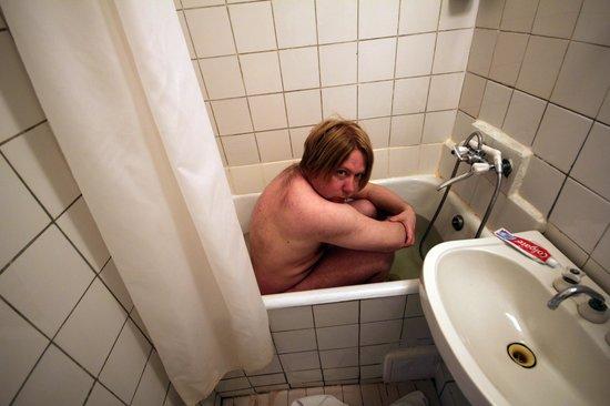 Slavutych Hotel: Bath or Shower?