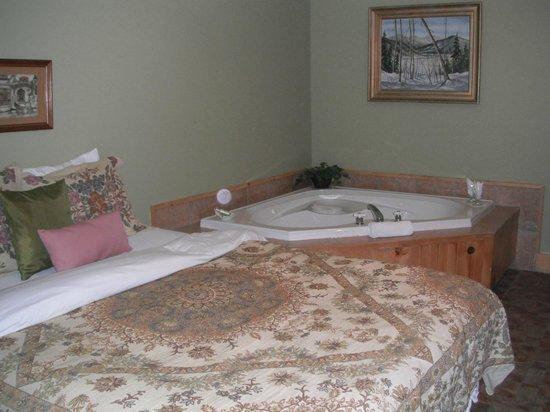 Auberge Beaux Reves Et Spa (Sweet Dreams Inn) : bain tourbillon