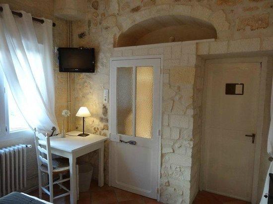Logis Hotel de la Muette : chambre