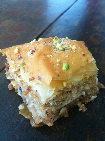 Silk Road Cafe: Home made Baklava