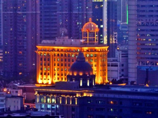 Radisson Blu Hotel Shanghai New World: vista dalla camera
