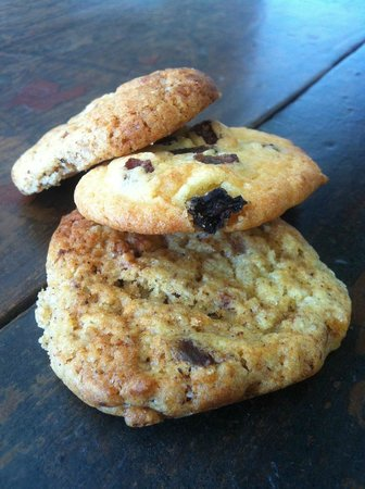 Silk Road Cafe: Home made biscuits